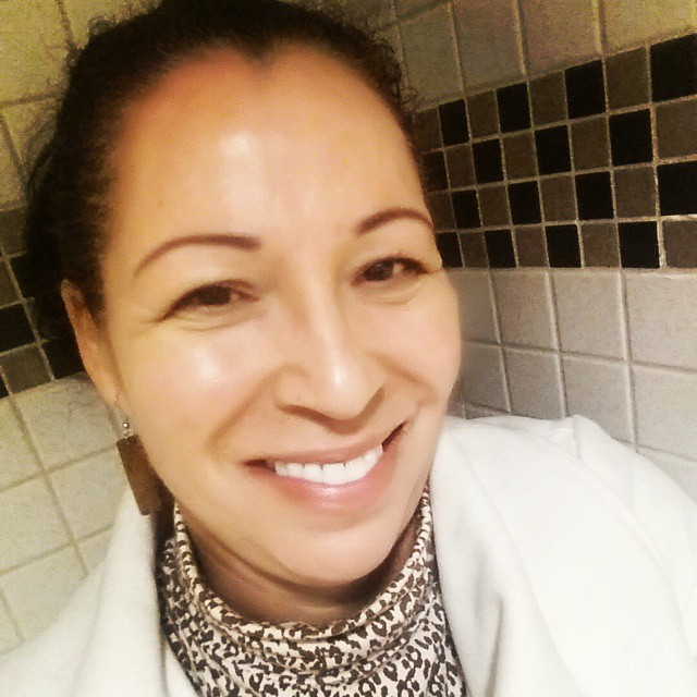 Carmen Cruz - 53 years young - - Look At That Clear, Glowing Skin!