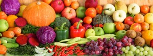 organic fruits and vegetables display for Meet Your Self Nutrition
