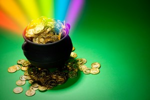 Pot of Gold Rainbow Abundance and Right Work