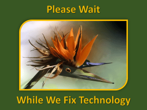 Zoom Infographic - Please Wait Technology