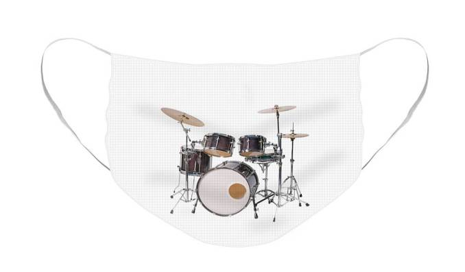 Face mask with Music Theme: Drum Set from Nancy's Novelty Photos on Pixels Products