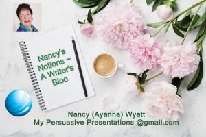 Nancy's Notions- A Writer's Bloc logo