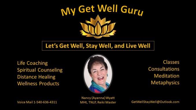 My Get Well Guru Nancy Wyatt