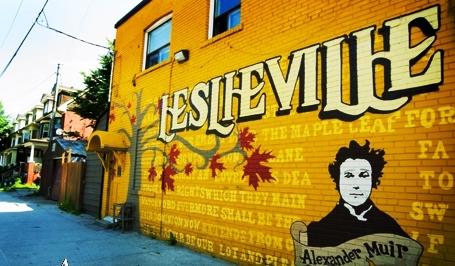 Leslieville living