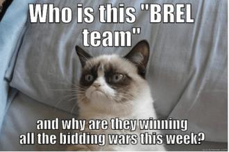 BREL bidding war cat