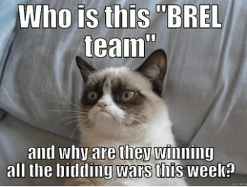 BREL bidding war cat