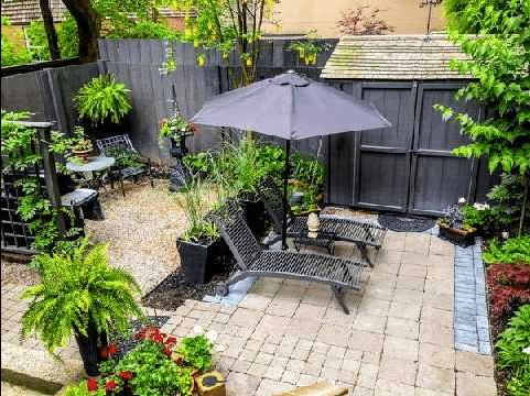 Cabbagetown Cottage Toronto Garden