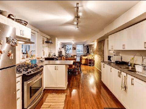 Cabbagetown Cottage Toronto Income Kitchen