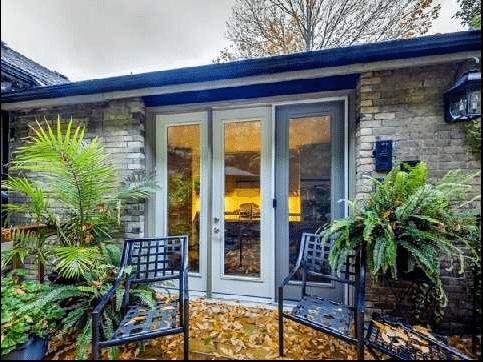 Cabbagetown Cottage Toronto Kitchen Walk Out
