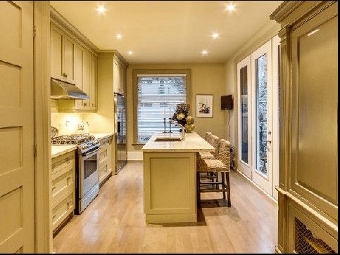 Cabbagetown Cottage Toronto Kitchen