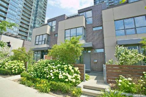 Downtown townhouse with 3 bedrooms and over 900 sqft of private outdoor space.