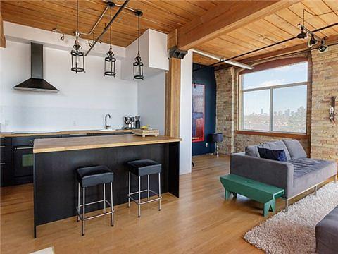 Noble Street Loft for Sale Toronto Open Concept