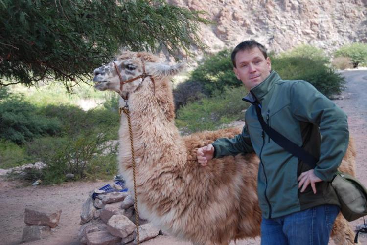 brendan and llama