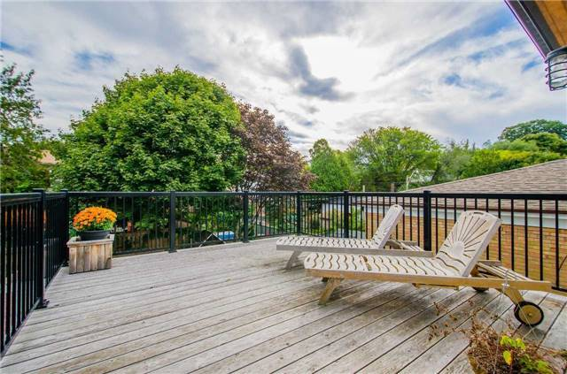 Roof top Deck Toronto Beach House for Sale