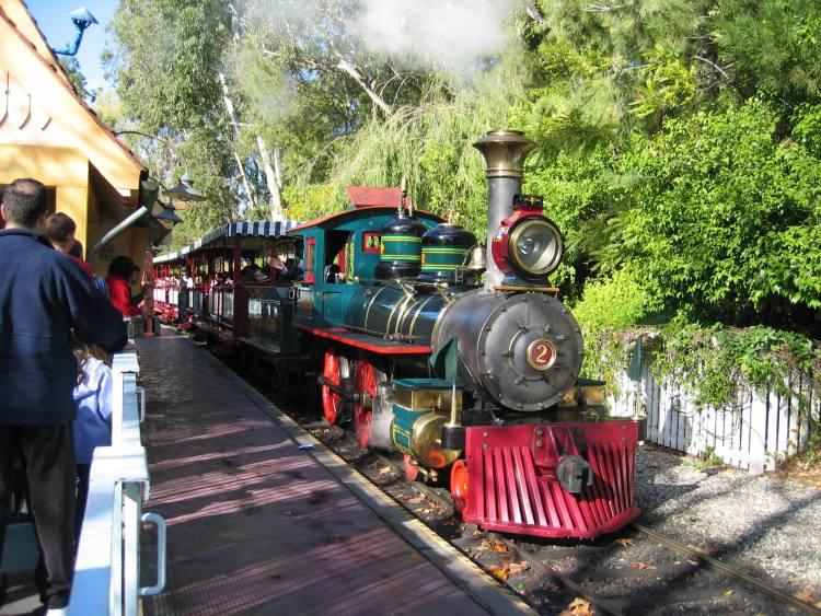 DisneylandTrainLocomotive