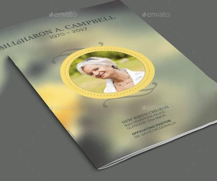 Funeral program image 2