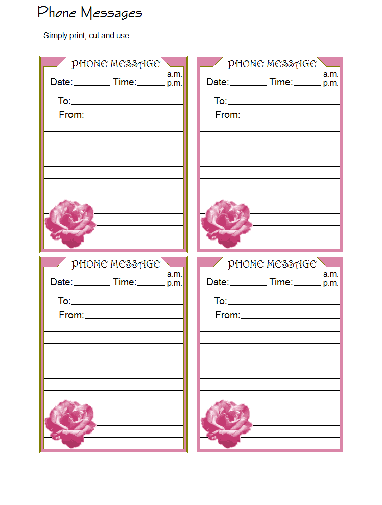 Telephone message template printable while you were out phone 10 telephone message templates word excel pdf formats maxwellsz