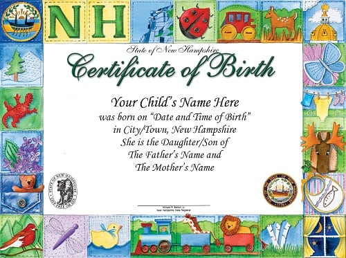 8+ Birth Certificate Templates