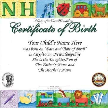 Newborn Birth certificate Template Archives - Word Templates