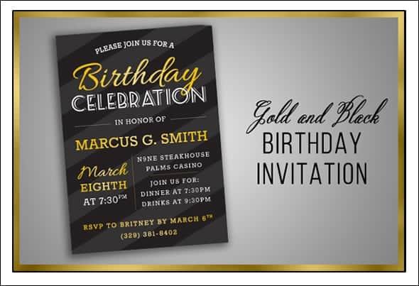 birthday party invitation 1