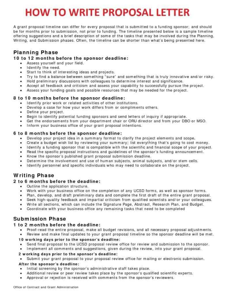 12 business proposal sample letters word excel pdf formats altavistaventures Gallery