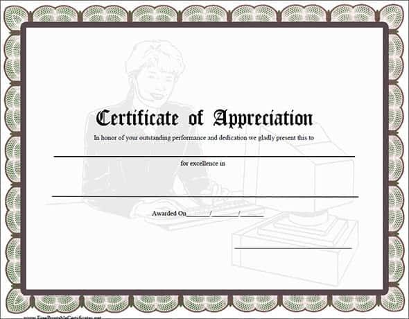 certificate of appreciation image 2