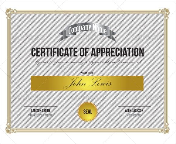 certificate of appreciation image 5