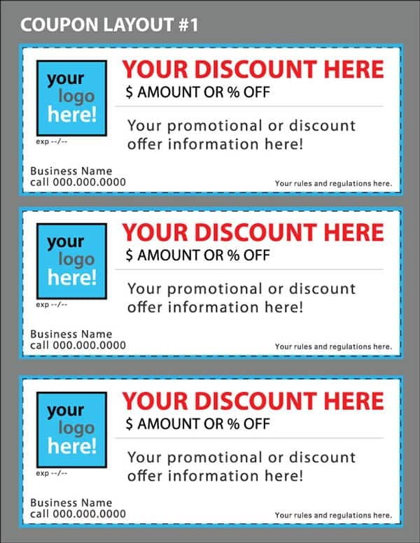 Coupon Image 11  Discount Coupons Templates