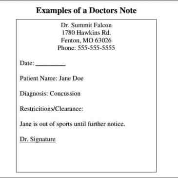 Download free doctor note template archives word templates 9 doctor note templates pronofoot35fo Images