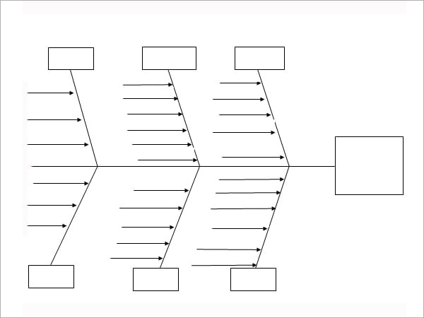 blank fishbone diagram template word - Fishbone Diagram Template For Word