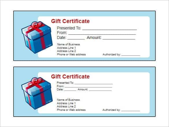 gift certificaet image 1
