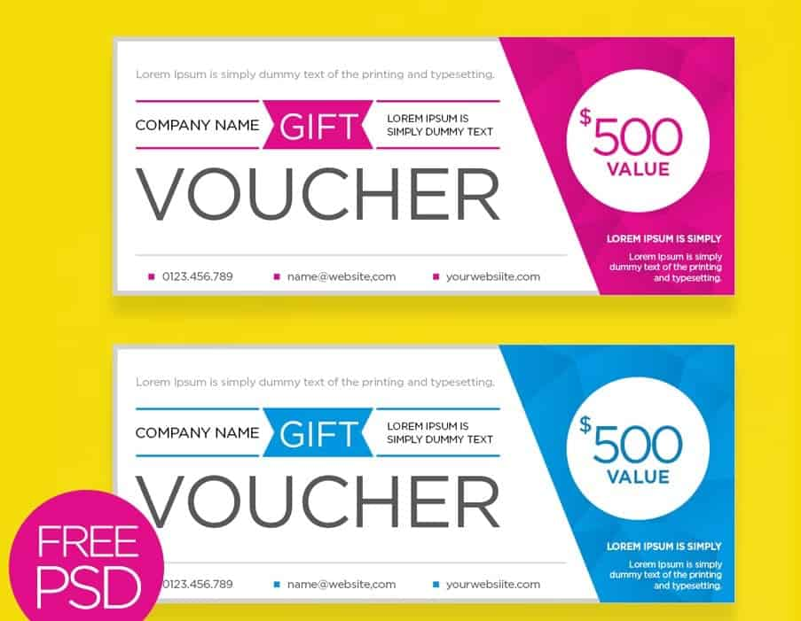 Present Voucher Template. Best Photos Of Template Of Voucher