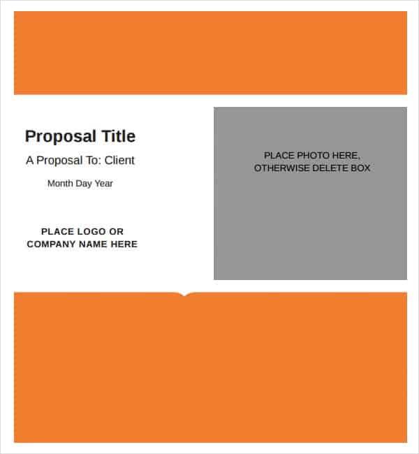 5+ Job proposal templates