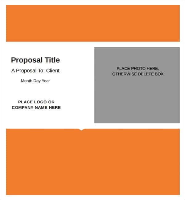 Editable Job Proposal Template Archives - Word Templates