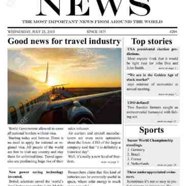 download free newspaper template archives word templates