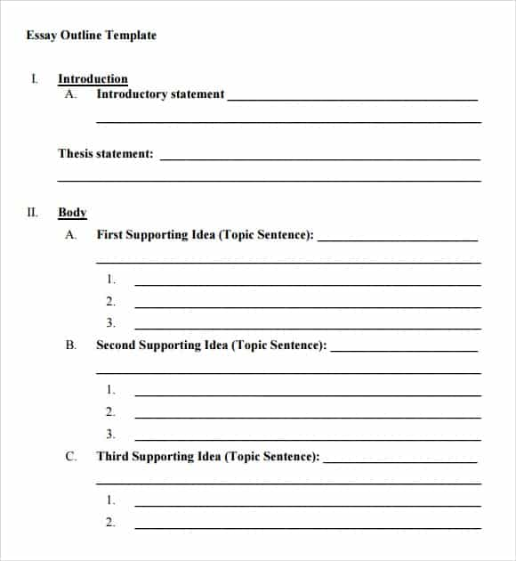 Blank Resume Templates Microsoft: Word Excel PDF Formats