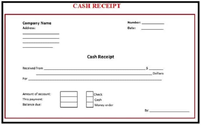 8 Payment receipt templates Word Excel PDF Formats – Sample Receipt of Payment Template