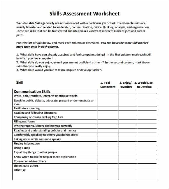 Nice Skills Assessment Image 9