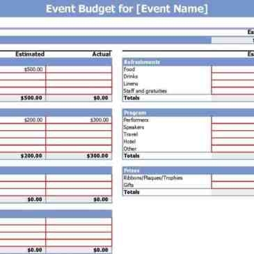 event budget sheet template archives word templates. Black Bedroom Furniture Sets. Home Design Ideas