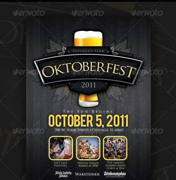 event flyer template 7
