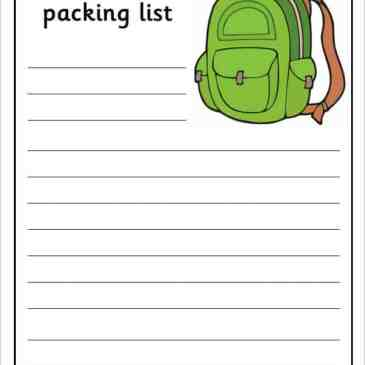 college packing list template archives word templates
