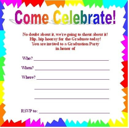 party invitation template 2