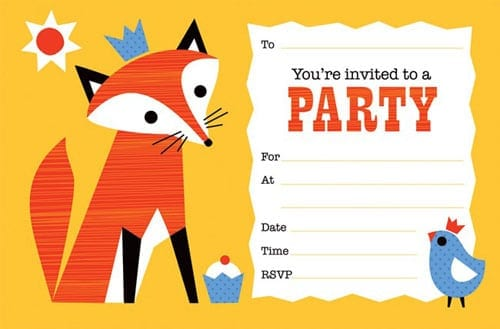 Party Invitation Template 3  Party Invitation Templates Word
