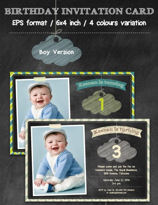 party invitation template 8