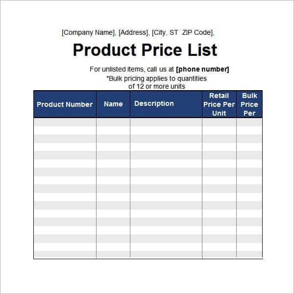 word 2013 price list