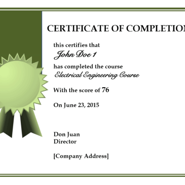 Certificate of training completion template archives word templates 10 certificate of completion templates yadclub Gallery