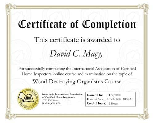 certificate of completion template 974841