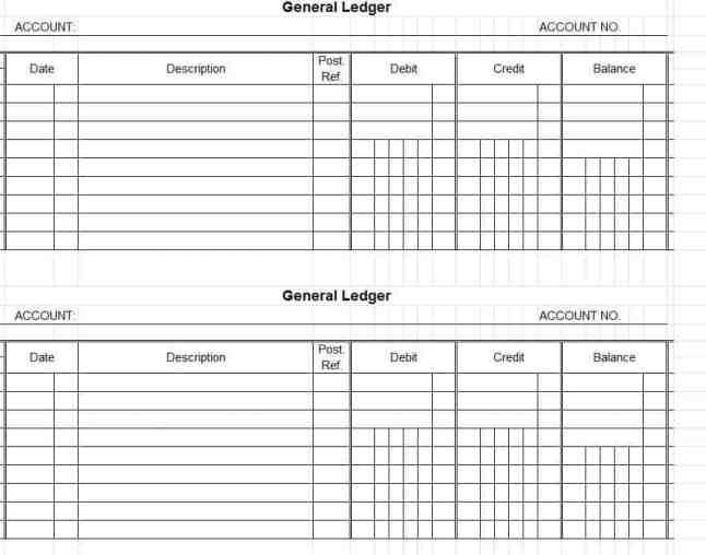 general ledger template 65451
