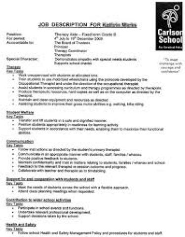 job description template 65451