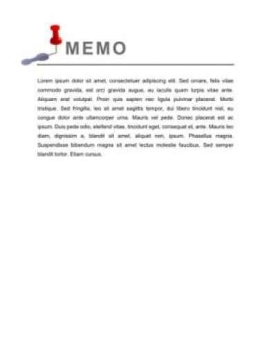 memo template 5641541